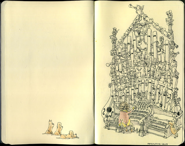New Sketchbook Illustrations From Mattias Adolfsson: productionvalue.jpg