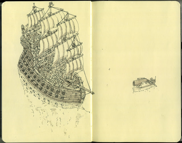New Sketchbook Illustrations From Mattias Adolfsson: singular.jpg