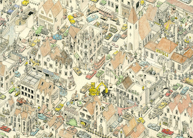 New Sketchbook Illustrations From Mattias Adolfsson: thepresent4.jpg