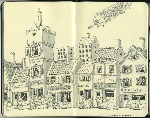 New Sketchbook Illustrations From Mattias Adolfsson: whistleblower073.jpg