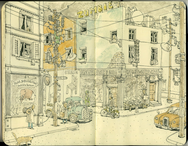 New Sketchbook Illustrations From Mattias Adolfsson: zimbie.jpg