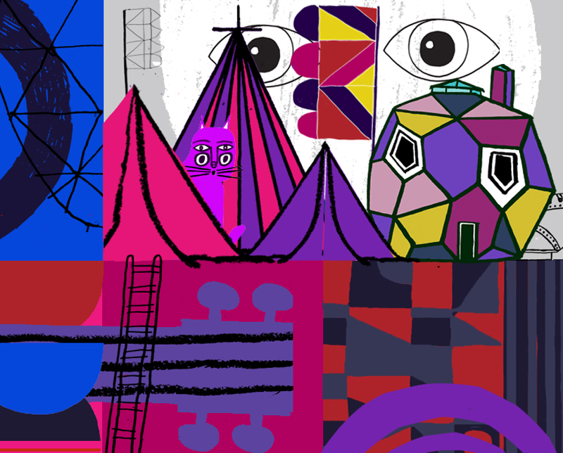 Illustrations, Installations, and Design by Neasdon Control Centre: aritzia-glastonbury2-neasdencontrolcentre.jpg