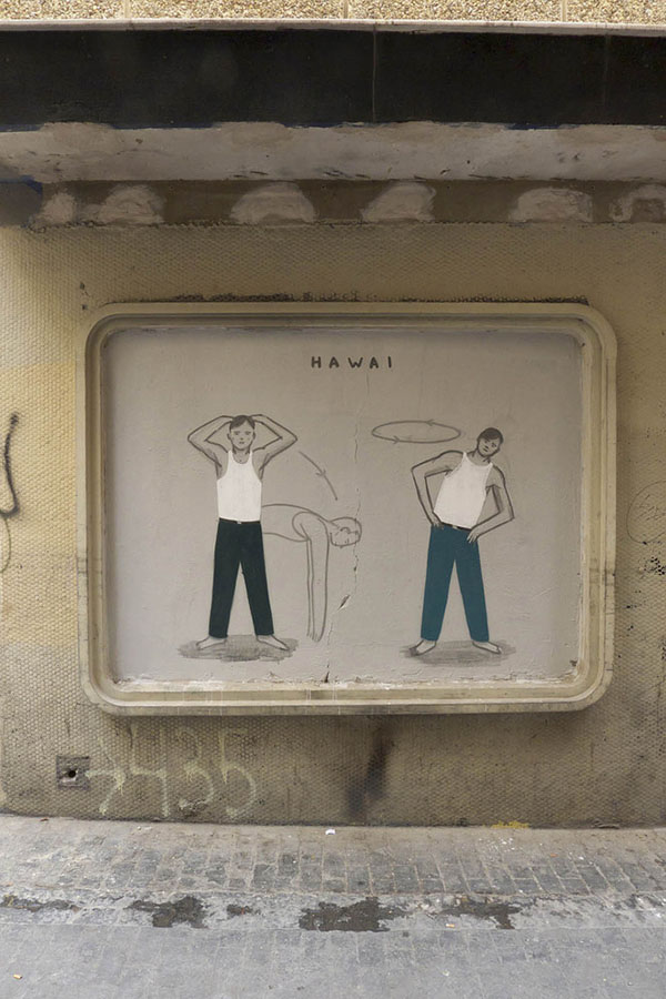 Two new pieces by Escif in Valencia, Spain: jux_escif3.jpg