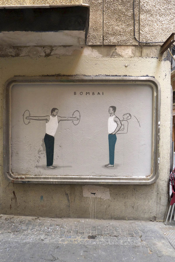 Two new pieces by Escif in Valencia, Spain: jux_escif4.jpg