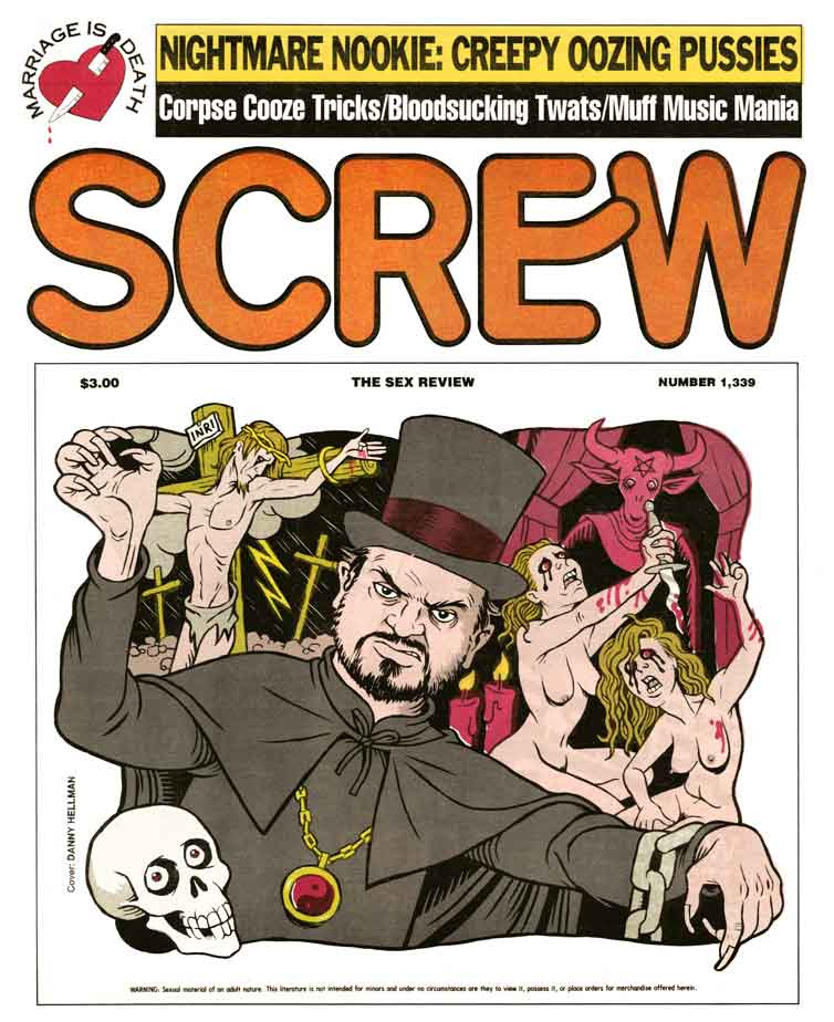 Al Goldstein, Publisher of 'Screw' Magazine Dies at 77: SCREW1339_hellman.jpg