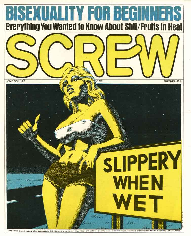 Al Goldstein, Publisher of 'Screw' Magazine Dies at 77: SCREW502_kirchner.jpg