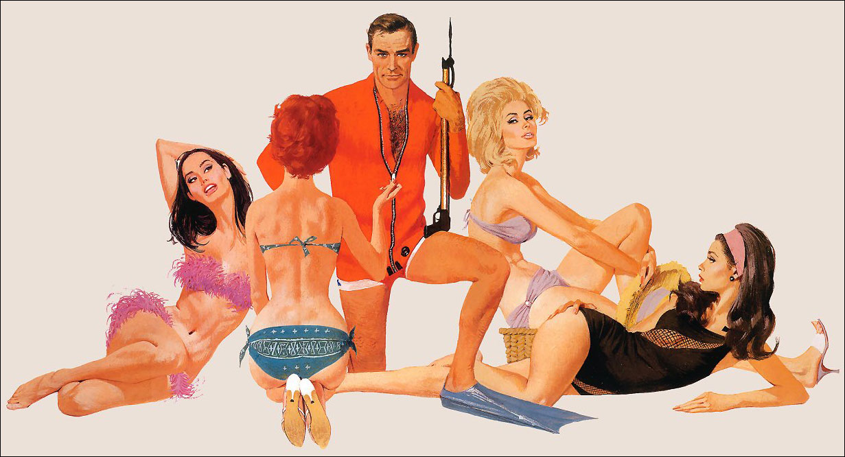 Classic Seduction: Robert McGinnis: mcginnis_connery3.jpg