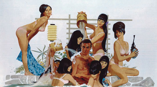 Classic Seduction: Robert McGinnis: movp4-james-bond.jpg