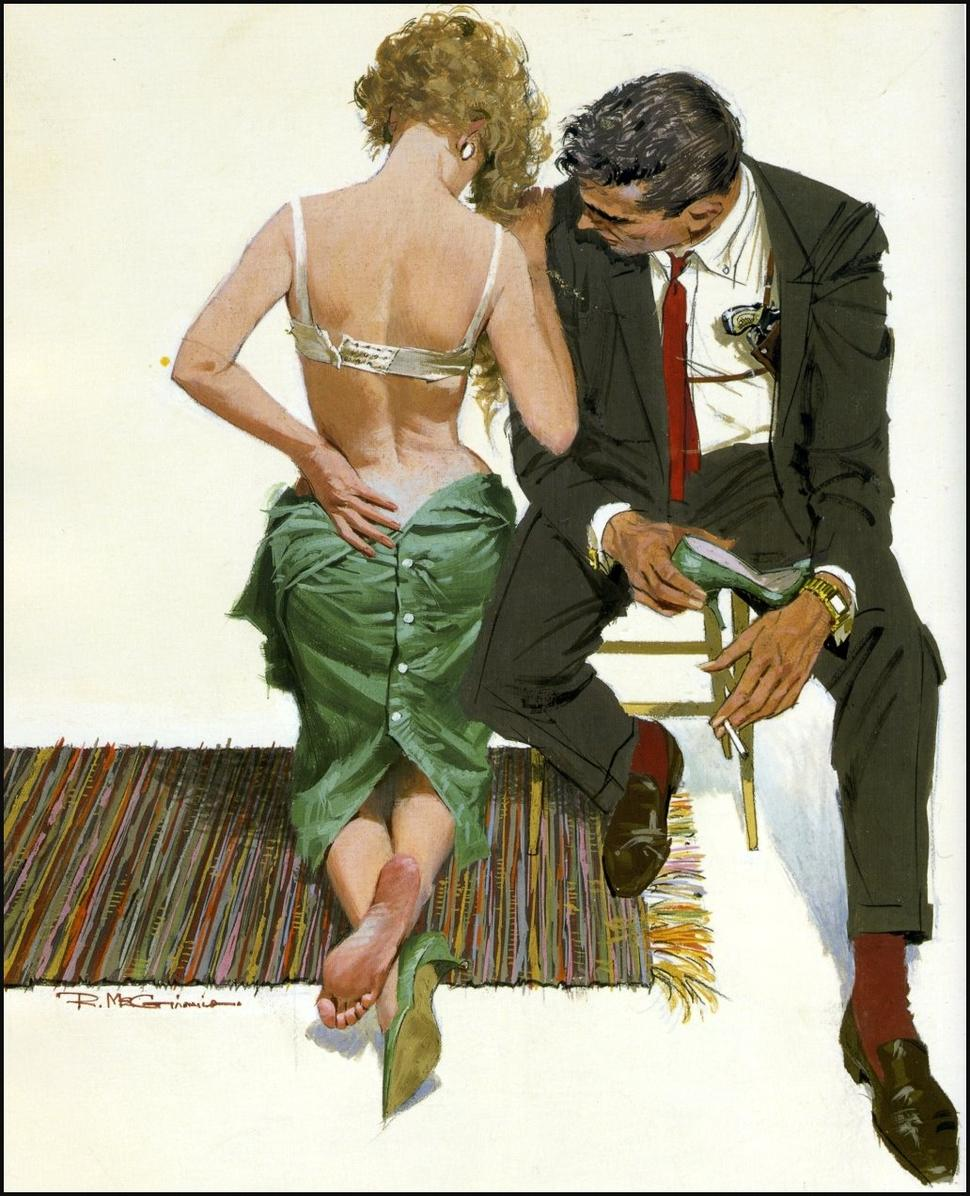 Classic Seduction: Robert McGinnis: robert mcginnis. the eighth circle. 001.jpg