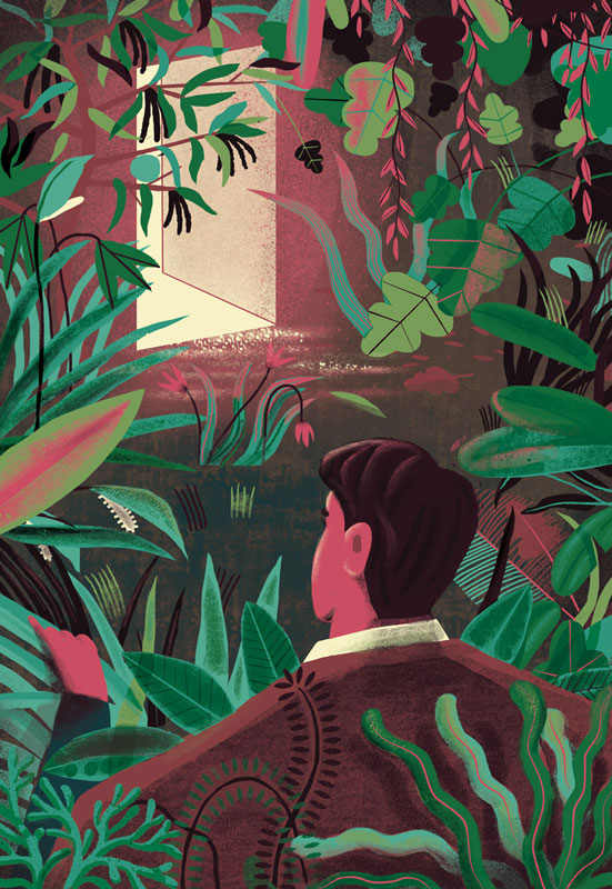 Vibe Israel: Assaf Benharroch Illustration: 83_jungle001s.jpg