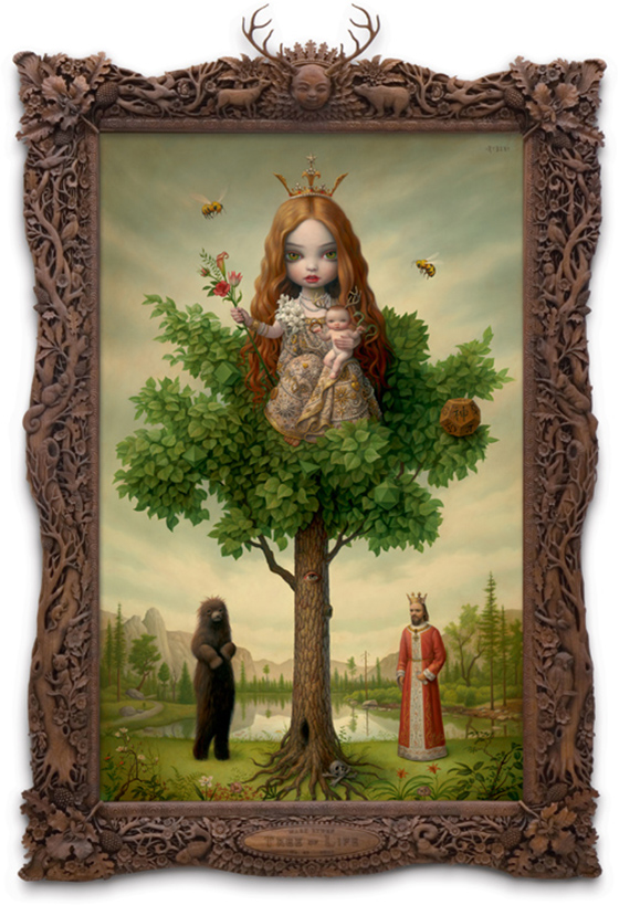Mark Ryden's Holiday Spirit: 63treeoflife.jpg