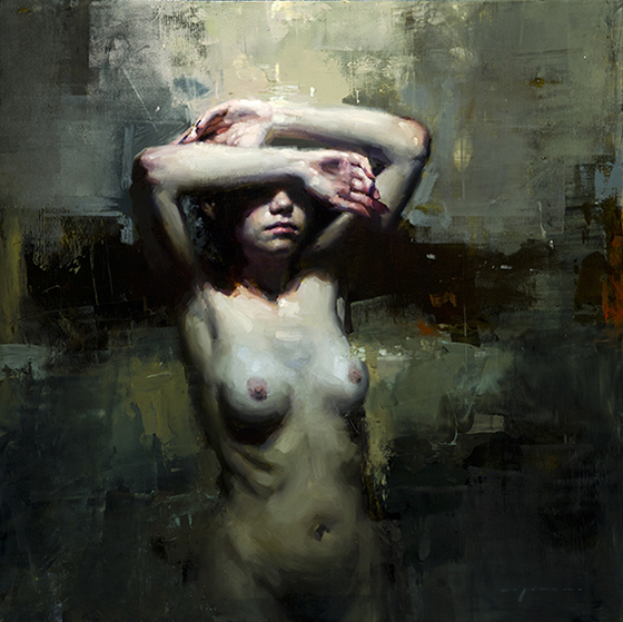 Figurative Paintings by Jeremy Mann: burial.jpg