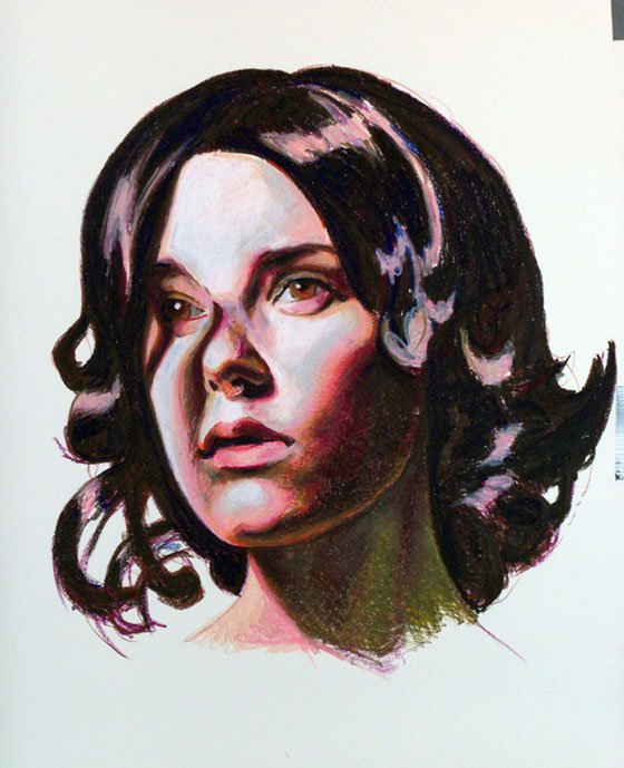 Mercedes Helnwein: Temptation to be Good: 04_angie.jpg