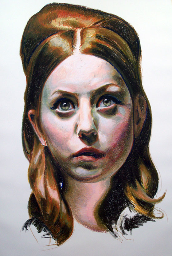 Mercedes Helnwein: Temptation to be Good: 05_kelly.jpg