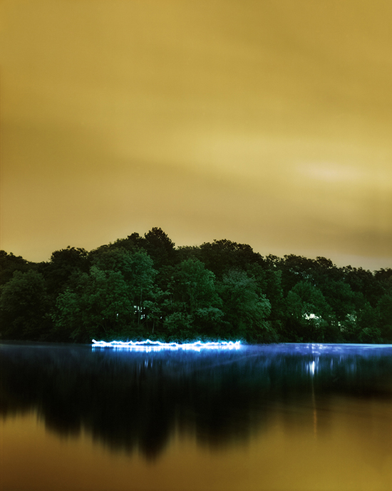 New Neon: Light, Paint & Photography @ Bedford Gallery, Walnut Creek: Underwood_Horseshoe-Lake.jpeg