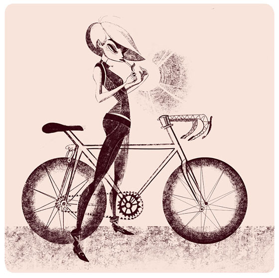 Priscilla Wong's Girls on Bikes: girl4.jpg