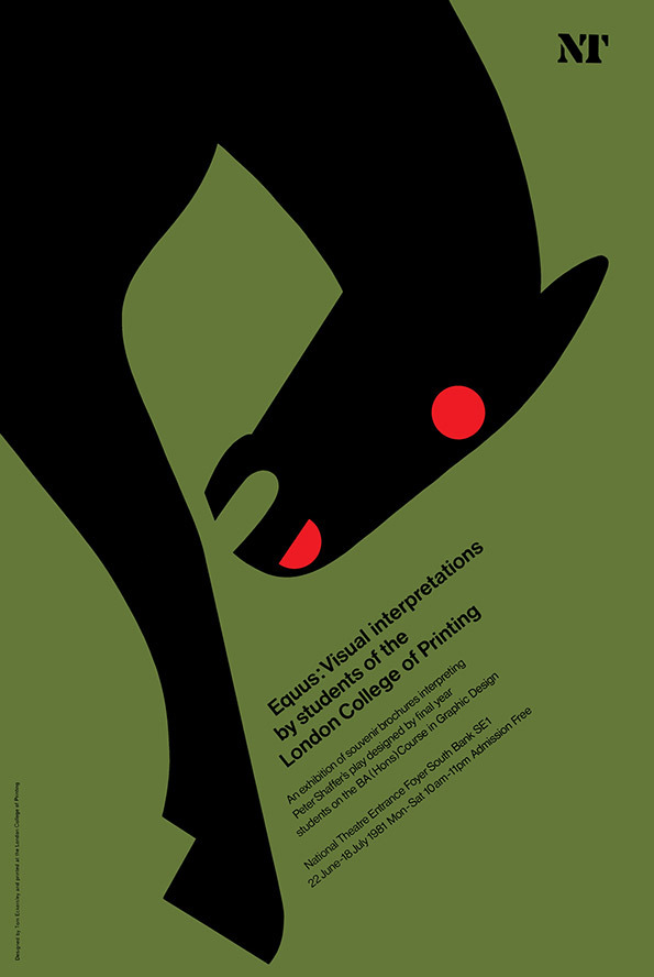 Tom Eckersley: Master of the Poster @ London College of Communication: TE_equus.jpg