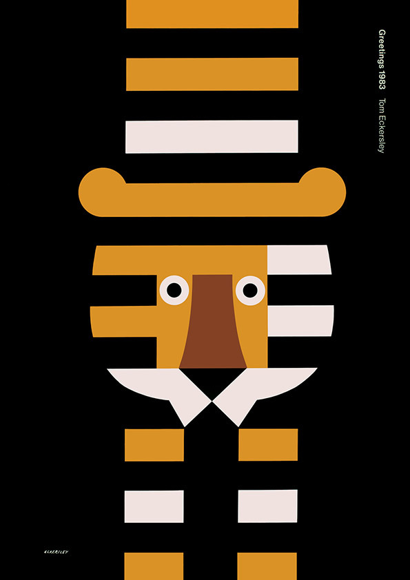 Tom Eckersley: Master of the Poster @ London College of Communication: TE_greetings.jpg