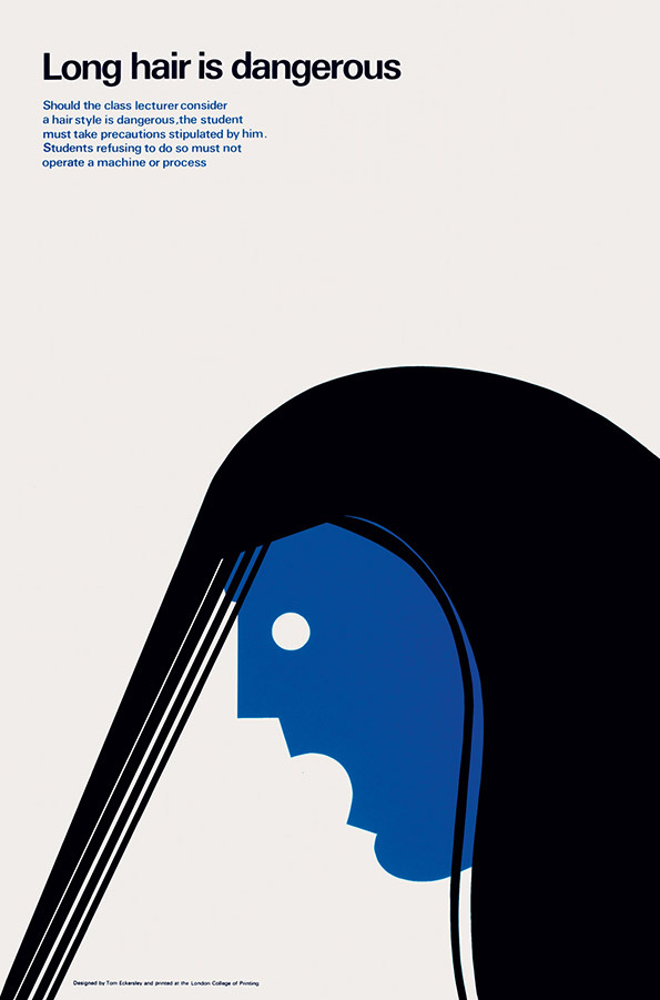 Tom Eckersley: Master of the Poster @ London College of Communication: TE_longhair.jpg