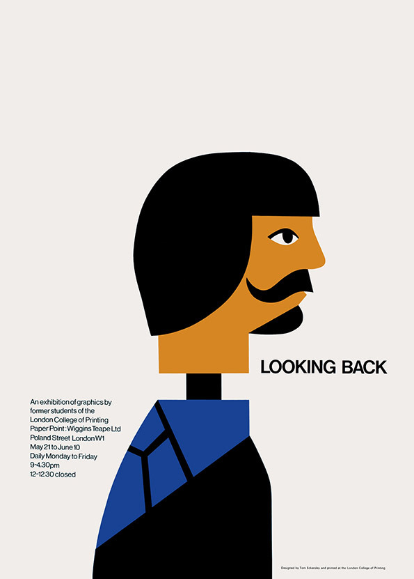 Tom Eckersley: Master of the Poster @ London College of Communication: TE_lookingback.jpg