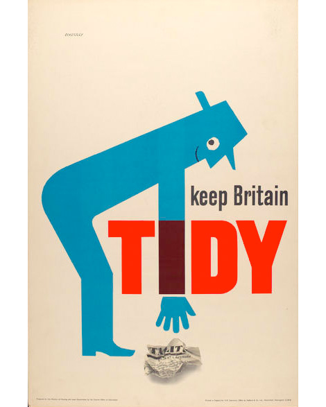Tom Eckersley: Master of the Poster @ London College of Communication: te-tidy.jpg