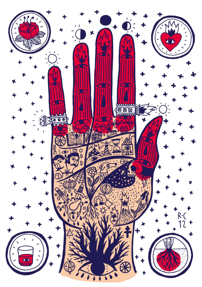 Ricardo Cavolo's Flash Tattoo Inspired Doodles: 1.jpg