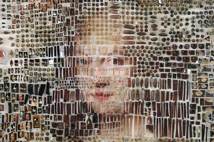 "Portraits Made From Collaged ""Specimens"": Juxtapoz-MichaelMapes09.jpg"