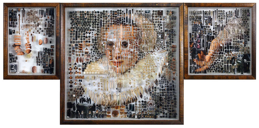 "Portraits Made From Collaged ""Specimens"": Juxtapoz-MichaelMapes23.jpg"
