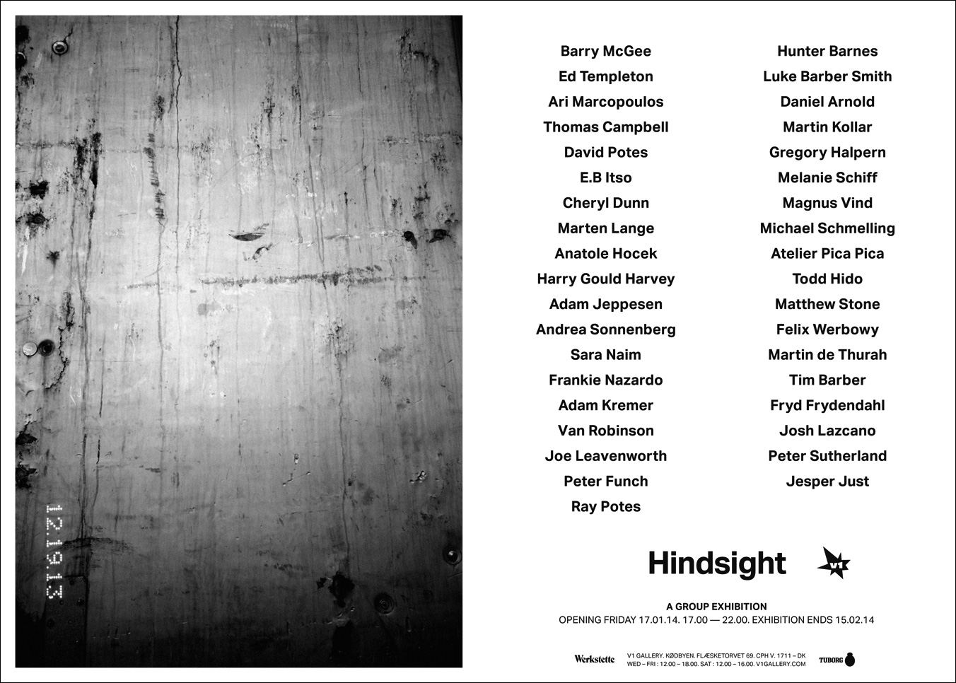 """Hindsight"" Group Show @ V1 Gallery, Copenhagen: hindsight_v1_2014.jpg"