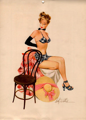 Esquire's Calendar Girls, 1948: July.jpg