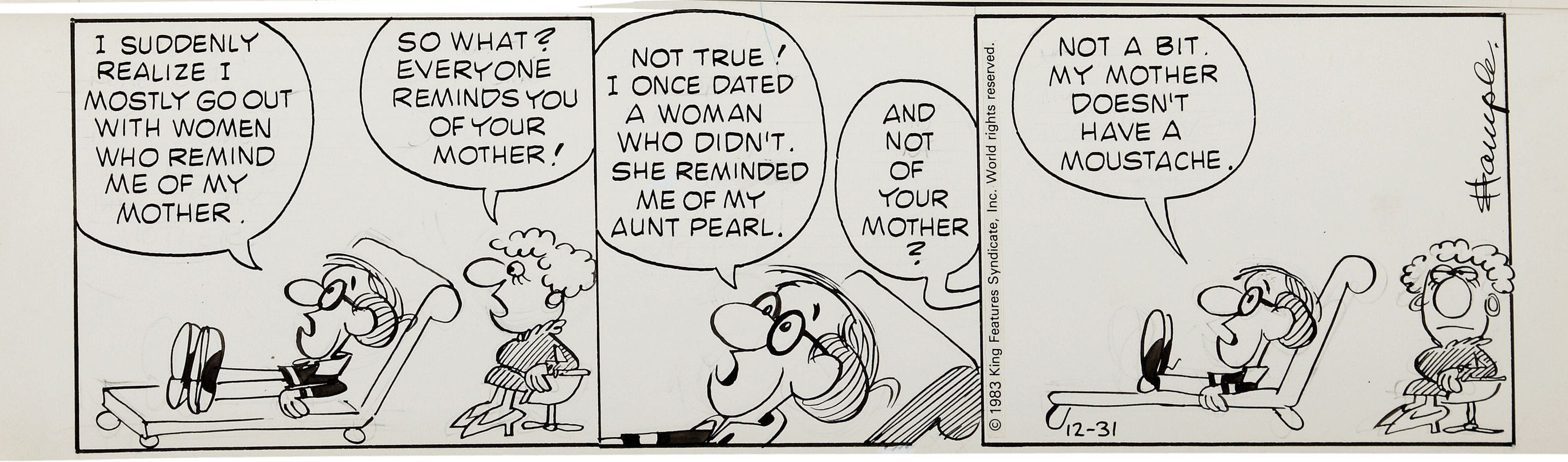 'Inside Woody Allen,' a comic strip from 1976-84: WoodyA9.jpg
