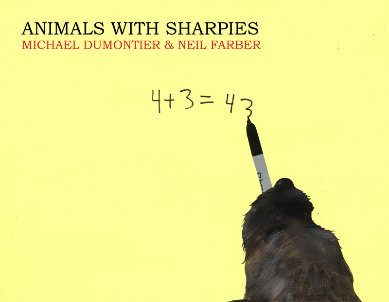 """Animals With Sharpies"": Michael Dumontier & Neil Farber : a4fe9e034534c4.jpg"