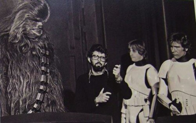 Best of 2014: Chewbaaca Shares Amazing Behind-The-Scene Pics: 3024727-slide-s-14-star-wars-behind-the-scenes-from-the-wookie.jpg