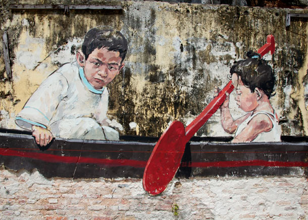 "Ernest Zacharevic ""Art is Rubbish/Rubbish is Art"" @ Hin Company Bus Depot, Penang, Malaysia: 09.-IMG_6041.jpg"