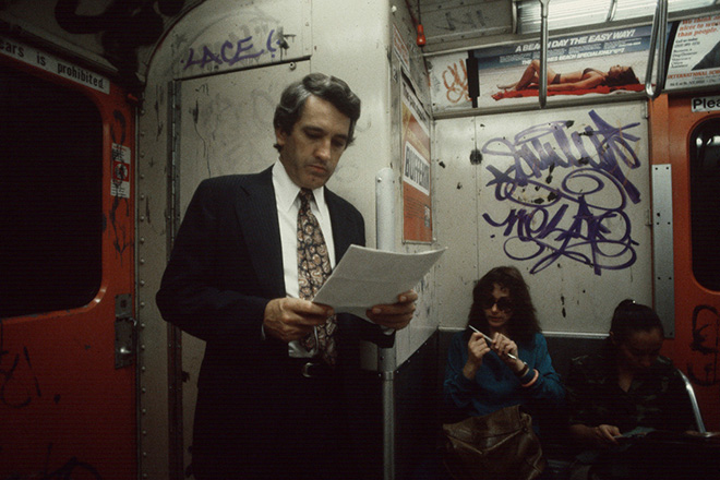 Best of 2014: Christopher Morris's 1980s NYC Subway Photos: Juxtapoz-ChrisopherMorris-04.jpg