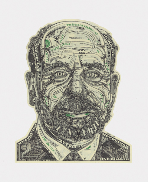 Money Is Material: Money Portraits by Mark Wagner: MW_CP_BERNANKE.jpg