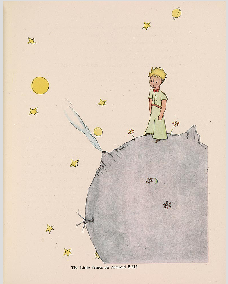 """The Little Prince: A New York Story"" @ The Morgan Library & Museum, NYC: Screen shot 2014-01-24 at 8.10.09 AM.png"