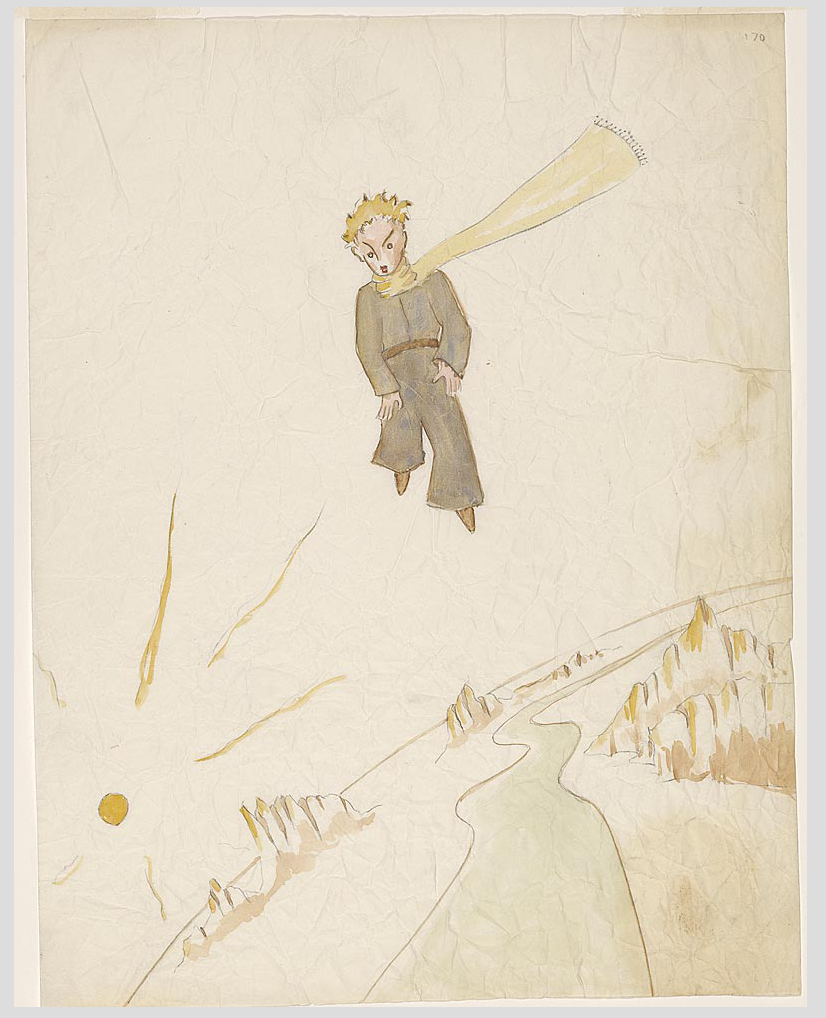"""The Little Prince: A New York Story"" @ The Morgan Library & Museum, NYC: Screen shot 2014-01-24 at 8.10.25 AM.png"