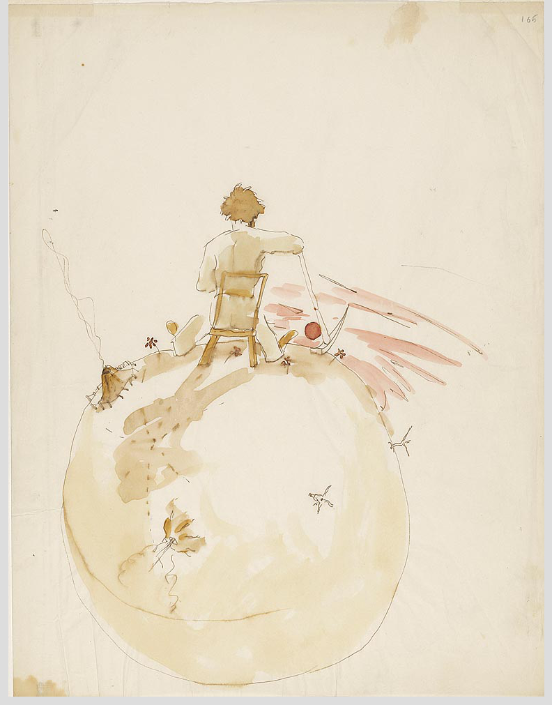 """The Little Prince: A New York Story"" @ The Morgan Library & Museum, NYC: Screen shot 2014-01-24 at 8.10.42 AM.png"