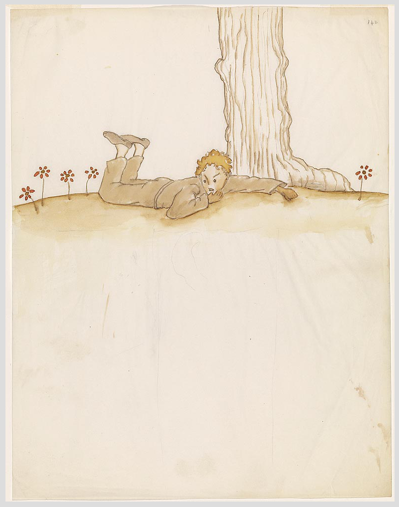 """The Little Prince: A New York Story"" @ The Morgan Library & Museum, NYC: Screen shot 2014-01-24 at 8.10.53 AM.png"