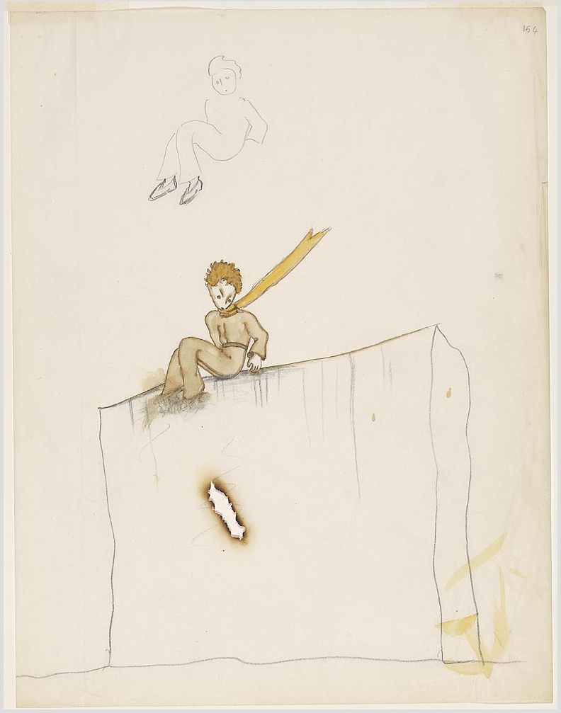 """The Little Prince: A New York Story"" @ The Morgan Library & Museum, NYC: Screen shot 2014-01-24 at 8.11.16 AM.png"