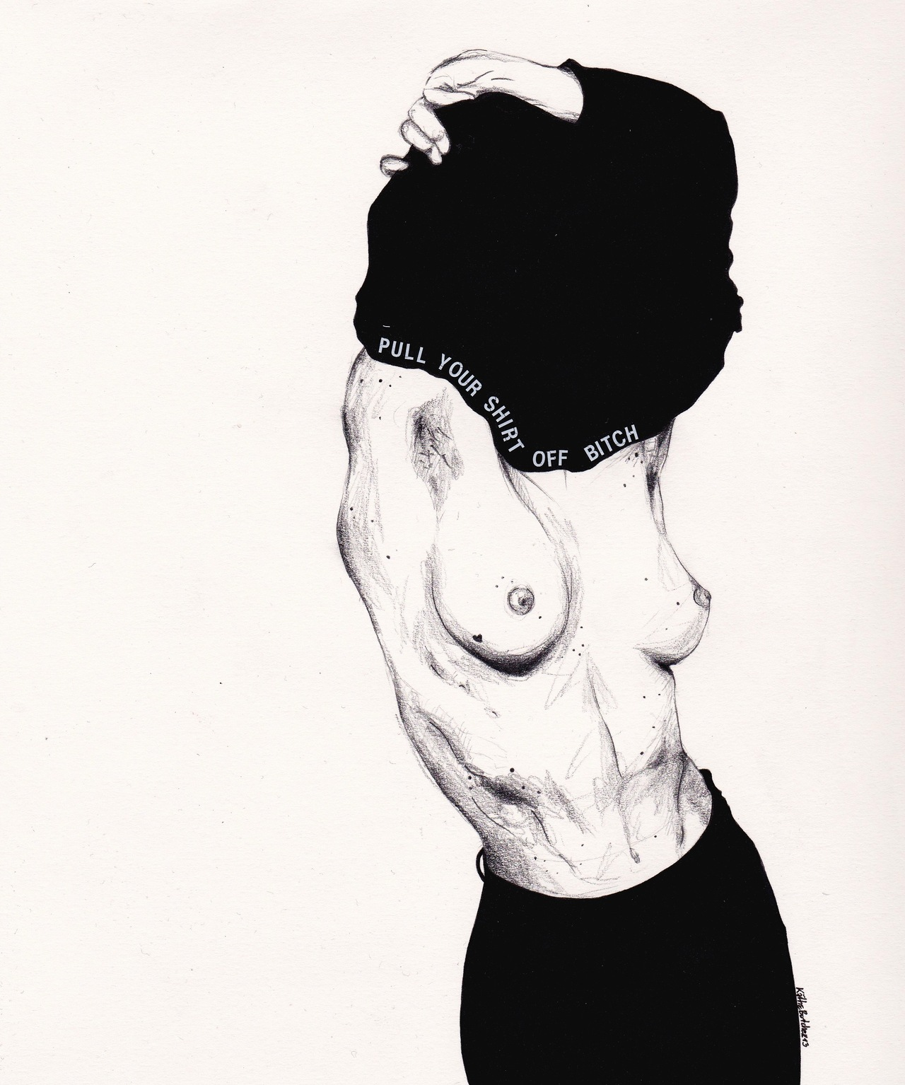 Black and White drawings from Kaethe Butcher: tumblr_mv6axfPz9k1sj1vz2o1_1280.jpg