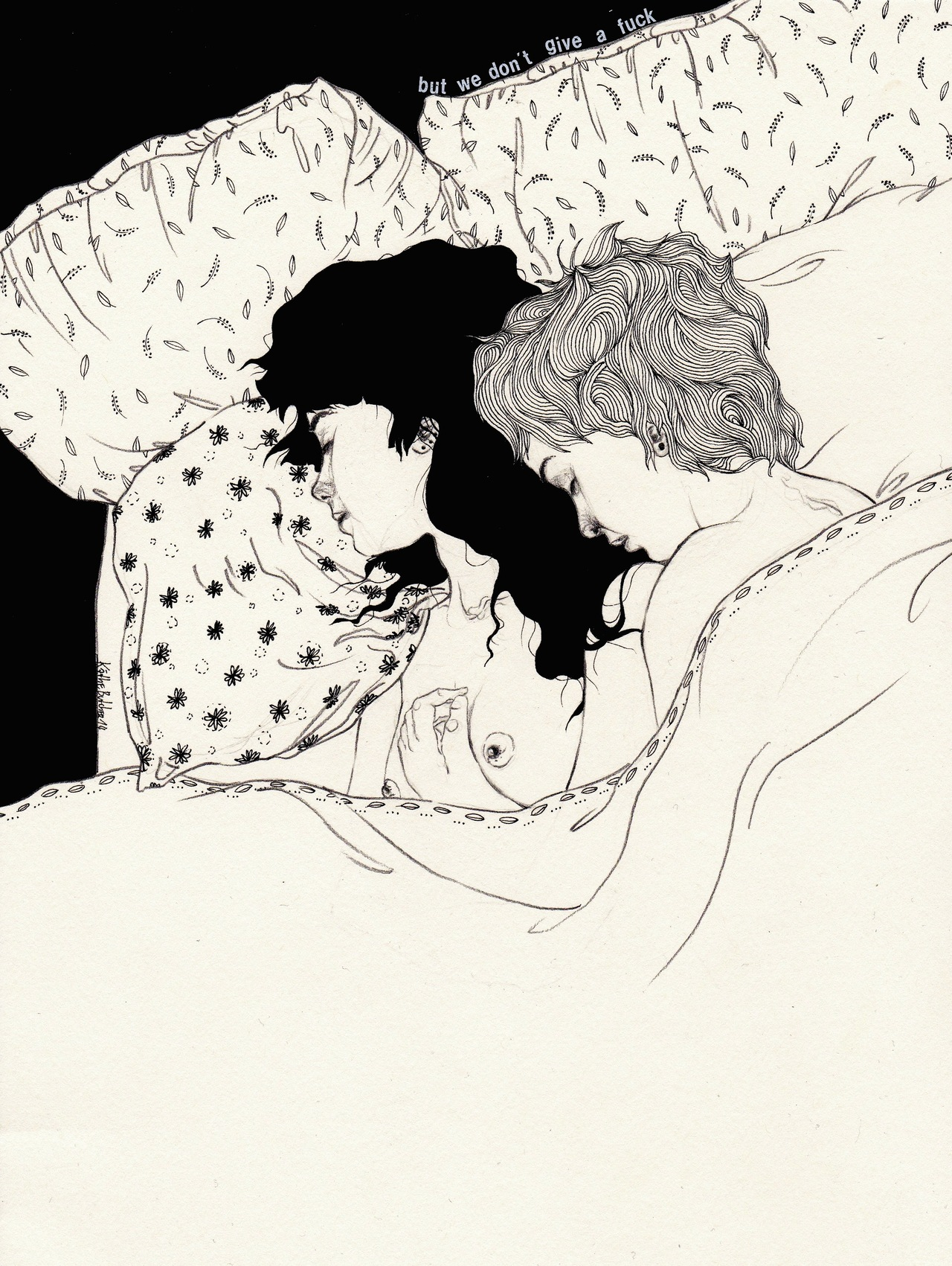 Black and White drawings from Kaethe Butcher: tumblr_mz1warj5iF1sj1vz2o1_1280.jpg