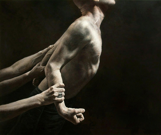 The Work of Truls Espedal: struggle-2-100x120-cm.jpg