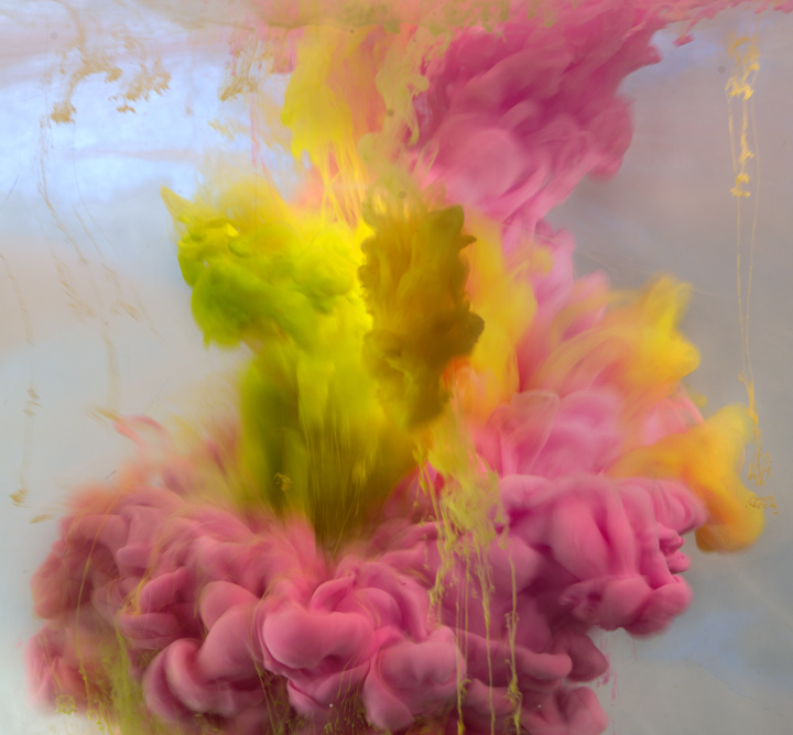 "Kim Keever ""Across the Volumes"" @ Waterhouse & Dodd, NYC: K2 Abstract 1477b, 28x30, 43x46, 2013.jpg"