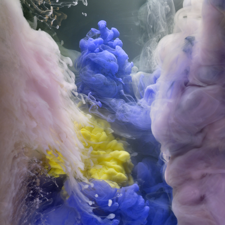 "Kim Keever ""Across the Volumes"" @ Waterhouse & Dodd, NYC: K2 Abstract 5565, 24x24, 38x38, 2013.jpg"
