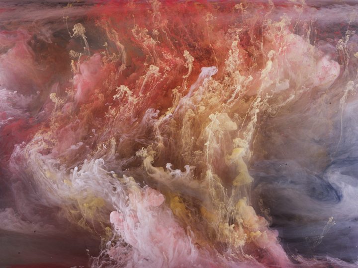 "Kim Keever ""Across the Volumes"" @ Waterhouse & Dodd, NYC: K2 Abstract 7101, 2014.jpg"