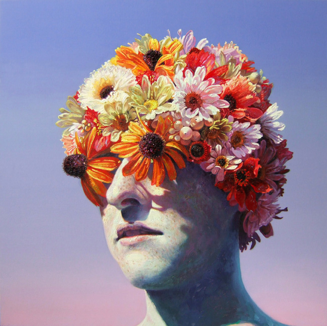 "Robin Williams ""Sons of the Pioneers"" @ PPOW Gallery, NYC: 2010FlowerCap.jpg"