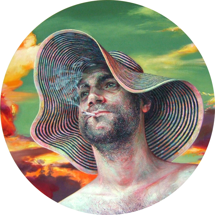 "Robin Williams ""Sons of the Pioneers"" @ PPOW Gallery, NYC: 2012SunsetSunhat.jpg"