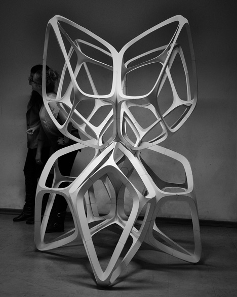 """The Fragile Beasts"" Paper Sculpture: Fragile-Beasts-sculpture-made-from-paper-by-Lodz-University-of-Technology-students_dezeen_10.jpg"